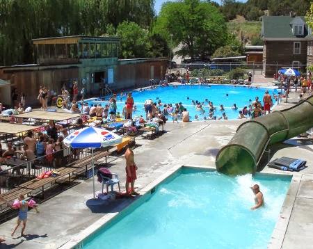 Hiese Hot Springs, Idaho, Kelly Canyon