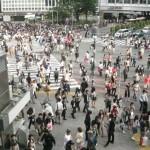 Busiest cross walk in the world - Shibuya, Japan