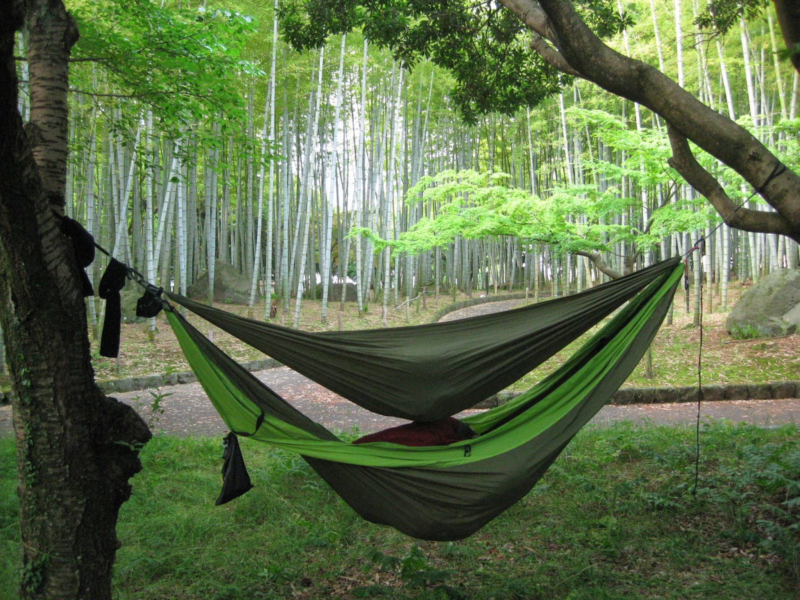 Urban camping Japan, Beppu
