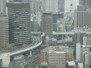 Osaka transit network