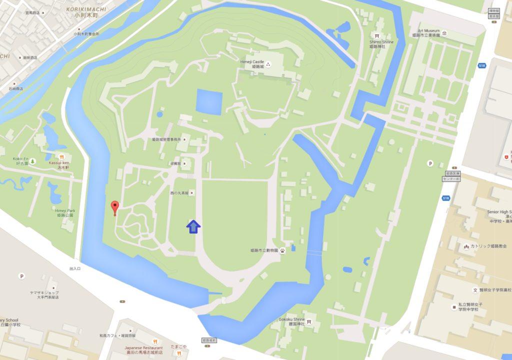 Day 8 urban camp Himeji