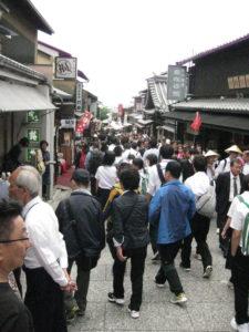 Kiyomizu-dera Visitors
