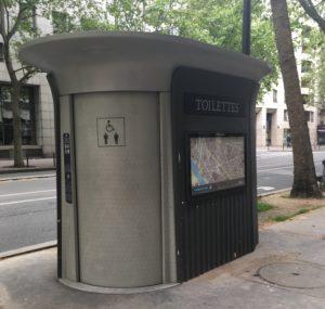 Europe Public Toilet